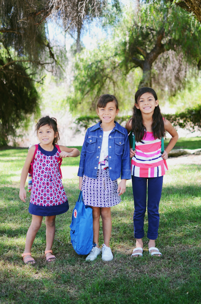 Blogger Cakies' kiddos wear Gymboree and stand #withMalala. Source: http://mycakies.com